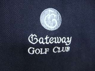 Mens Ashworth golf wind vest size Large (2239)