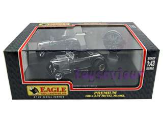 UH Universal Hobbies 143 Diecast Car 1932 Ford Street Hot Rod Chrome