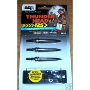 Broadheads with Blades / 3 Spare O Rings / A Safety Wrench /: Sports