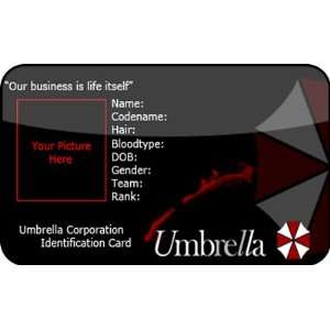 Redident Evil Umbrella Cosplay ID Card: Office Products