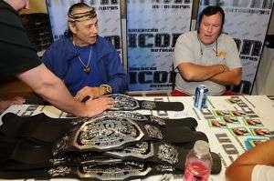 Jimmy Snuka Signed WWE ECW Championship Belt PSA/DNA