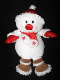 Stuffed Plush 9 Snowman Christmas CUTE