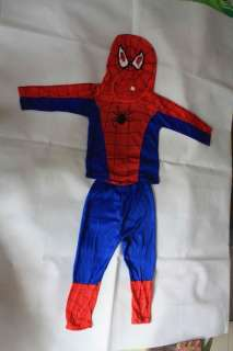 Mask Boys Fancy Dress Spiderman Costume 3 8 Years old