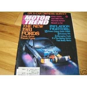 ROAD TEST 1980 1981 Audi 5000 Turbo Motor Trend Magazine