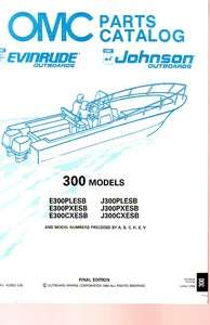 1990 Evinrude/Johnson 300 HP Outboard Motor Parts Catalog