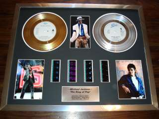 MICHAEL JACKSON AWESOME THIS IS IT FRAMED DISPLAY WOW
