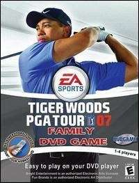 Tiger Woods PGA Tour 07 Family DVD Game NEW / Sealed.
