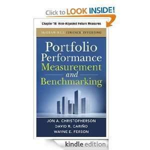 Adjusted Return Measures Wayne E. Ferson  Kindle Store