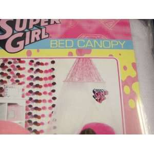 Super Girl Bed Canopy: Home & Kitchen
