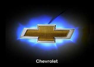 CHEVROLET CHEVY CAR 3D LED LIGHT UP BADGE DECAL LOGO EMBLEM STICKER