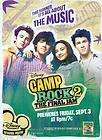 DISNEY CAMP ROCK JOE NICK KEVIN JONAS BROTHERS 3D GUITAR FRAME