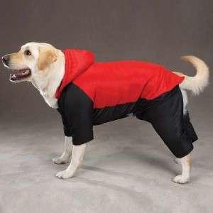 Casual Canine Snowsuit Nylon Winter Dog Coat Blue