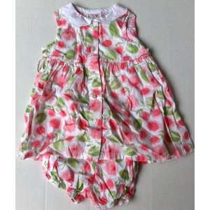 Baby Girl 18 24 Months, 2 Pc Summer Dress Outfit Frock