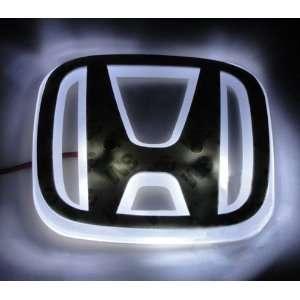 Auto led white car logo light for HONDA NEW FIT 08