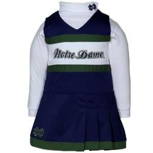 adidas Notre Dame Fighting Irish Infant Girls Navy Blue White