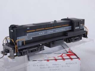 Stewart/Kato 4503 HO DRS 4 4 1000/RS 12 New York Central NYC #6226