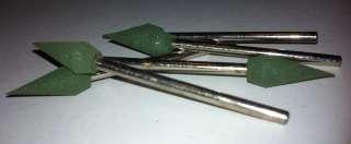Polishing Points for Dremel Rotary Tool 463 flame  medium grit