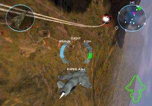 Dropship United Peace Force PS2 pilot flying sim game