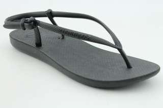 Havaianas Slim Slingback Womens SZ 11 Black Shoes