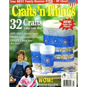 Crafts N Things Magazine July (2002) Books