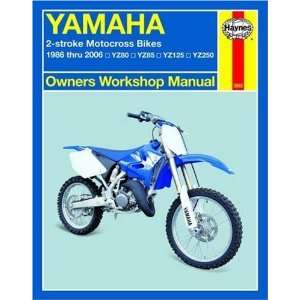 YZ125, YZ250 (Owners Workshop Man [Paperback] Alan Ahlstrand Books