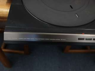 Sony Linear Tracking Quartz Lock Direct Drive Automatic Turntable PS