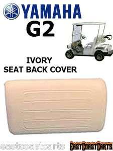 Yamaha G2 Golf Cart IVORY Seat BACK Cover J55 K841G (