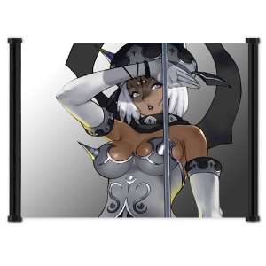 Soul Calibur IV 4 Game Angol Fear Fabric Wall Scroll