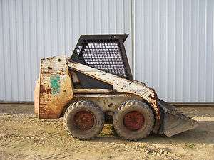 Bobcat 632 skidsteer loader skid steer bucket