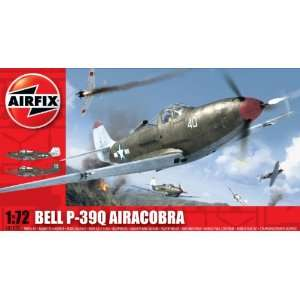 72 Scale Bell P 39Q Airacobra Military Aircraft Classic Kit Series 1