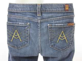 FOR ALL MANKIND Girls Blue Medium Wash Denim Jeans 12