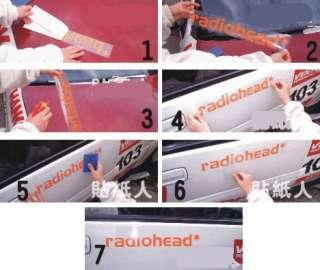 CUTE Hello Kitty Car Decal Sticker (whole car)