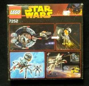 New Sealed Lego Star Wars Droid Tri Fighter 7252 NRFB