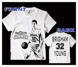 Jimmer Fredette TEACH ME HOW TO JIMMER Black Tee Shirt