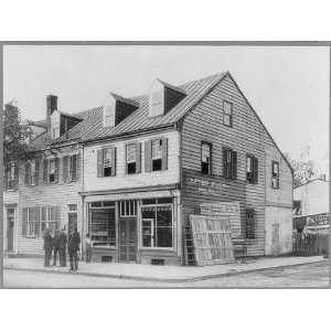 House,John Paul Jones,1747 1792,Fredericksburg,VA