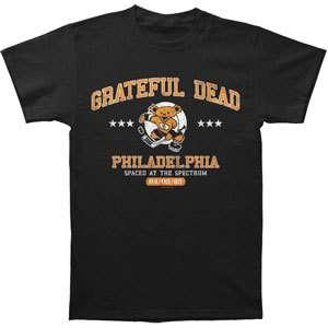 New Grateful Dead Spaced at The Spectrum Philadelphia Hockey Bear T