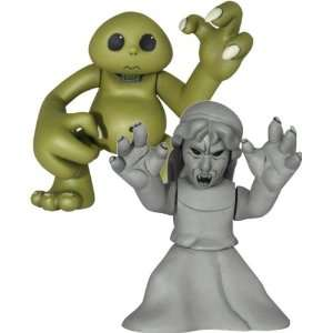 Who   Time Squad 2 Pack   Slitheen & Weeping Angel: Toys & Games