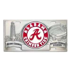 Alabama Crimson Tide A License Plate Cover Sports
