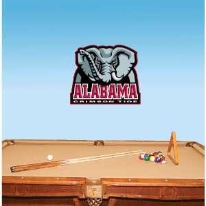 Alabama Crimson Tide NCAA Wall Decal sticker 25x20