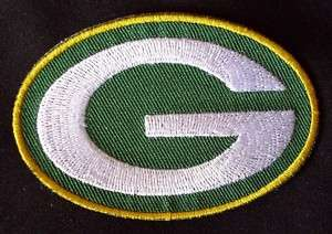 GREEN BAY PACKERS NFL FOOTBALL LOGO G PATCH CREST IRON