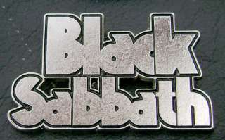 You are looking in the BLACK SABBATH Metal Pin Badge