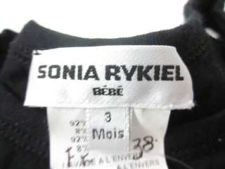 SONIA RYKIEL Baby Sleeveless Top Pants Sz 3m / 6m