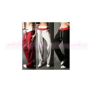 Soft Adult Gym Yoga Athletic Slim Fit Sweat Sport Pants