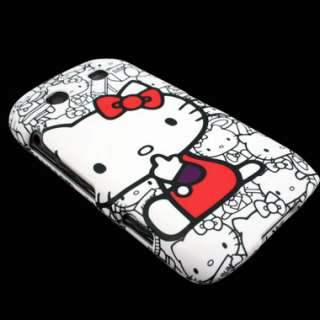 Protector for Blackberry Torch 9850 9860 Hello Kitty Cover Skin