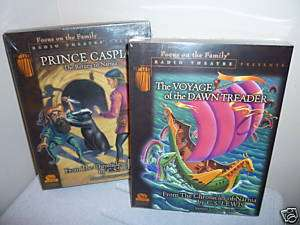 Prince Caspian + Voyage of Dawn Treader CD Narnia Lewis