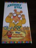 ARUR Arurs Eyes VIDEO Francine TV VHS Aardvark KID |