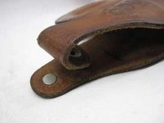 Bacon M65 L3 Western Style Leather Pistol Gun Belt Holster