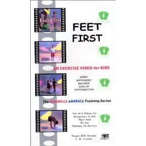 Feet First [VHS]: Diane Patterson Massad, Kidskills