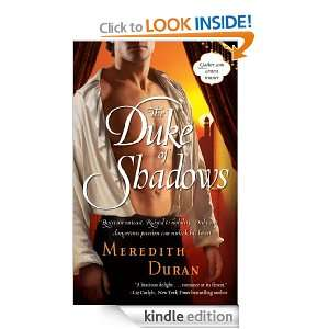 The Duke of Shadows Meredith Duran  Kindle Store