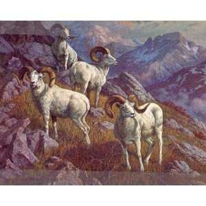 Harry Curieux Adamson   High Bastion Dall Sheep: Home & Kitchen